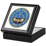 USS JOHN MARSHALL Keepsake Box
