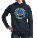 USS JOHN MARSHALL Women's Hooded Sweatshirt