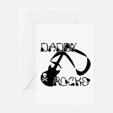 DADDY ROCKS! Greeting Cards (Pk of 10)