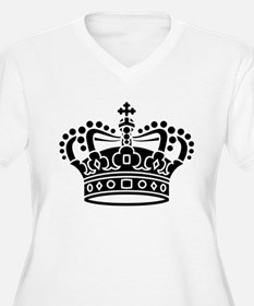 Royal Crown - Black Plus Size T-Shirt