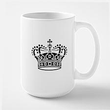 Royal Crown - Black Mugs