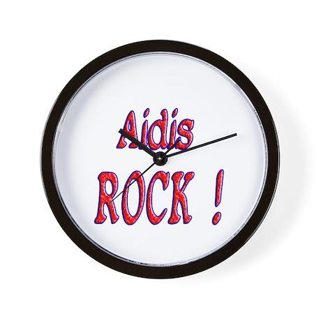 Aidis Rock ! Wall Clock