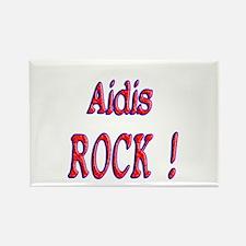 Aidis Rock ! Rectangle Magnet (10 pack)
