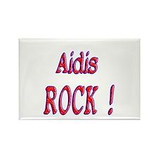 Aidis Rock ! Rectangle Magnet