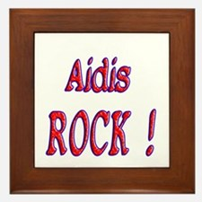 Aidis Rock ! Framed Tile