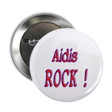 "Aidis Rock ! 2.25"" Button (10 pack)"