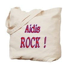 Aidis Rock ! Tote Bag