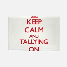 Keep Calm and Tallying ON Magnets