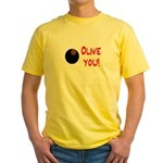 OLIVE YOU Yellow T-Shirt