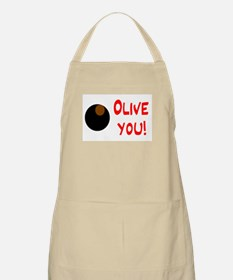 OLIVE YOU BBQ Apron