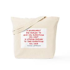 Cute Politics government Tote Bag
