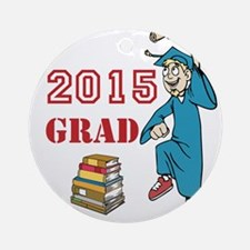 2015 Graduate Celebration Ornament (Round)