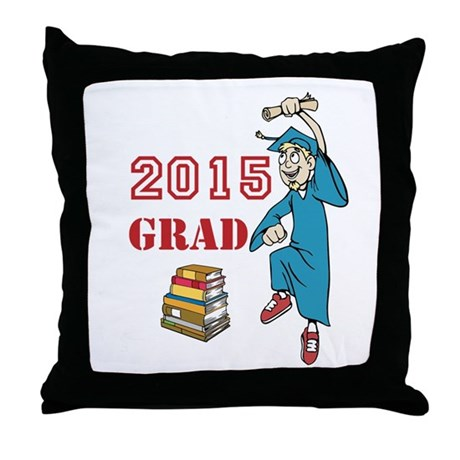 Throw Pillow Trends 2015 : 2015 Graduate Celebration Throw Pillow by ThePaintedGiftStore