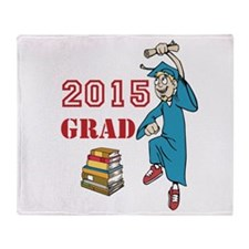 2015 Graduate Celebration Throw Blanket