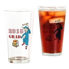 2015 Graduate Celebration Drinking Glass