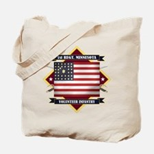 1st Minnesota Volunteer Infantry Tote Bag