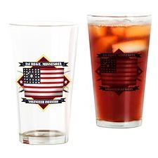 1st Minnesota Volunteer Infantry Drinking Glass