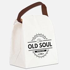 Birthday Born 1985 Limited Editio Canvas Lunch Bag