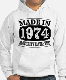 Made in 1974 - Maturity Date TD Hoodie