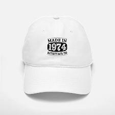 Made in 1974 - Maturity Date TDB Baseball Baseball Cap