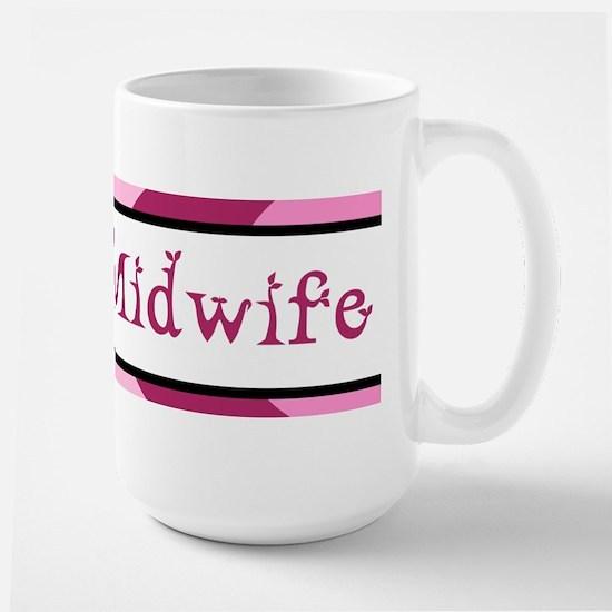 Plum Student Midwife Large Mug