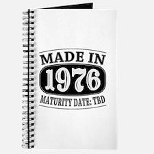 Made in 1976 - Maturity Date TDB Journal