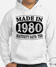 Made in 1980 - Maturity Date TDB Hoodie