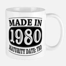 Made in 1980 - Maturity Date TDB Mug