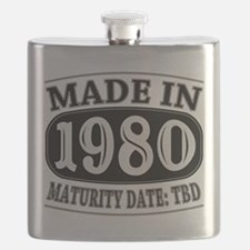 Made in 1980 - Maturity Date TDB Flask