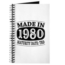 Made in 1980 - Maturity Date TDB Journal