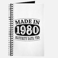 Made in 1980 - Maturity Date TDB Journal