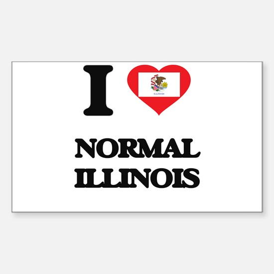 I love Normal Illinois Decal