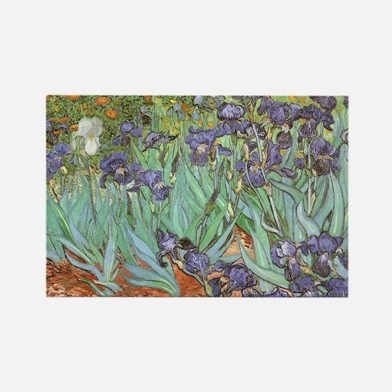 Van Gogh Irises Magnets
