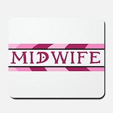 Plum Midwife Mousepad