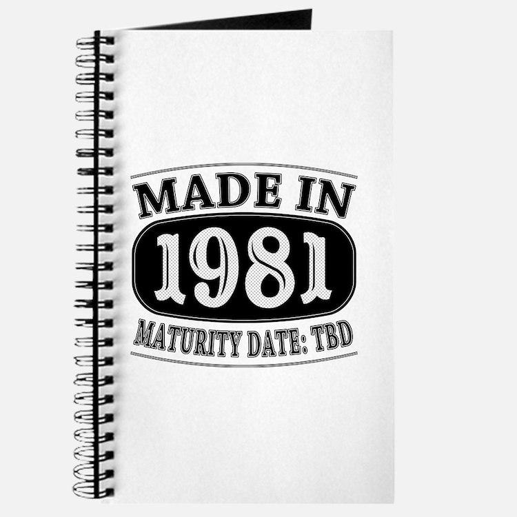 Made in 1981 - Maturity Date TDB Journal