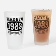 Made in 1983 - Maturity Date TDB Drinking Glass