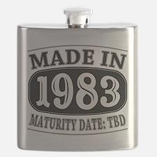 Made in 1983 - Maturity Date TDB Flask