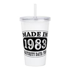 Made in 1983 - Maturit Acrylic Double-wall Tumbler