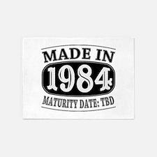 Made in 1984 - Maturity Date TDB 5'x7'Area Rug