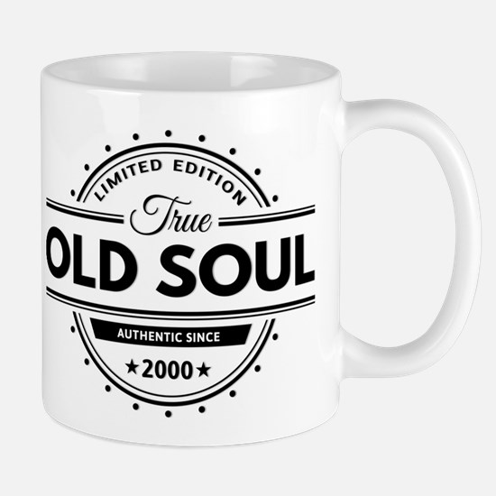 Birthday Born 2000 Limited Edition Old Mug