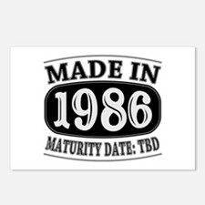 Made in 1986 - Maturity D Postcards (Package of 8)