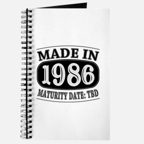Made in 1986 - Maturity Date TDB Journal