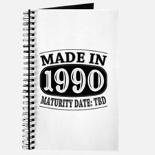 Made in 1990 - Maturity Date TDB Journal