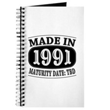 Made in 1991 - Maturity Date TDB Journal