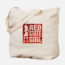 Red State Girl Tote Bag