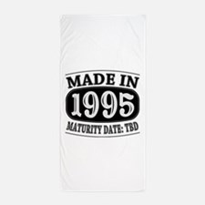 Made in 1995 - Maturity Date TDB Beach Towel