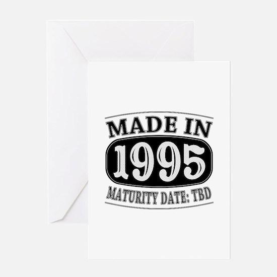 Made in 1995 - Maturity Date TDB Greeting Card