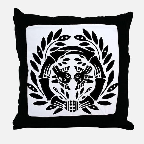 Date Masamune Throw Pillow