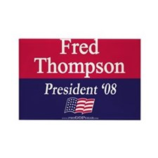 """Fred Thompson"" Rectangle Magnet"