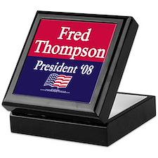"""""""Fred Thompson for President"""" Keepsake Box"""